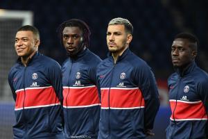 Le PSG a dévoilé le groupe retenu pour le déplacement à Strasbourg