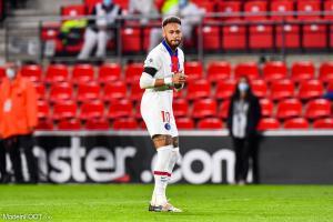 Neymar avec le PSG