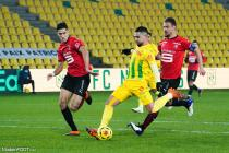 Aguerd (Rennes), Louza (Nantes), Da Silva (Rennes)