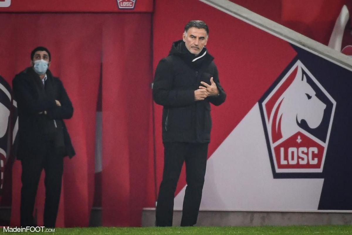 Christophe Galtier félicite le PSG