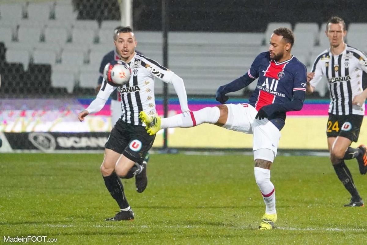 Le Paris Saint-Germain s'est imposé face au SCO Angers (0-1), ce samedi soir en Ligue 1.