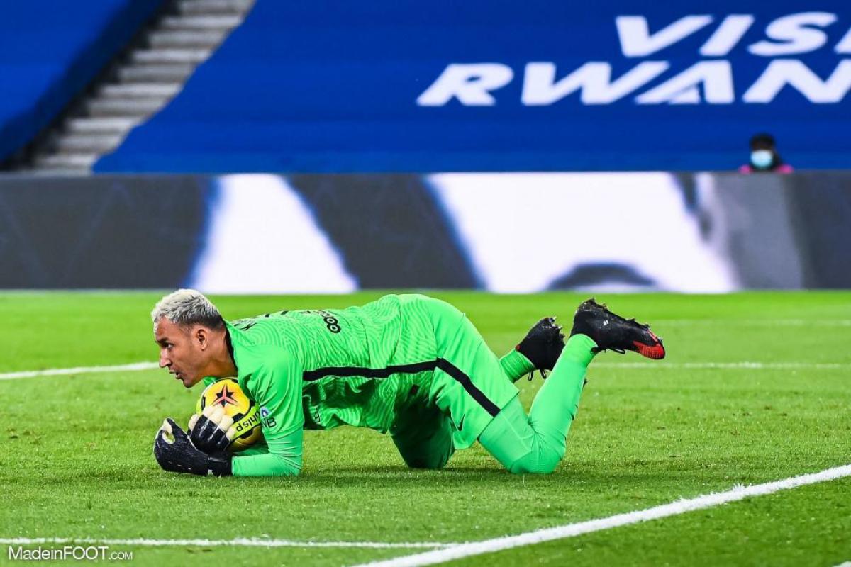 Keylor Navas, le gardien de but du PSG.