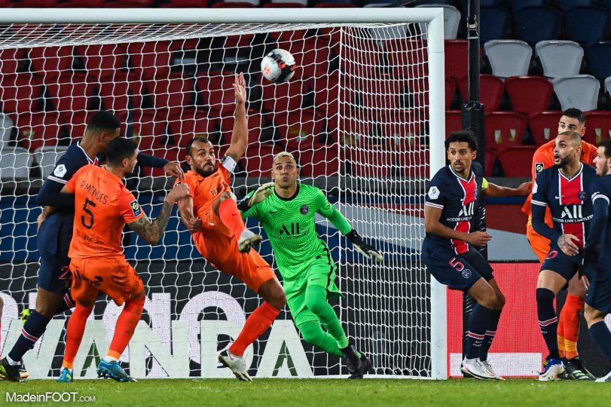 Keylor Navas (PSG) fait partie des trois finalistes pour le titre de meilleur joueur du mois de mars en Ligue 1.