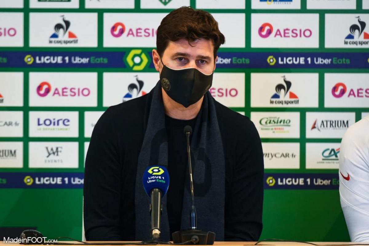 Mauricio Pochettino veut voir une bonne prestation face à Saint-Étienne