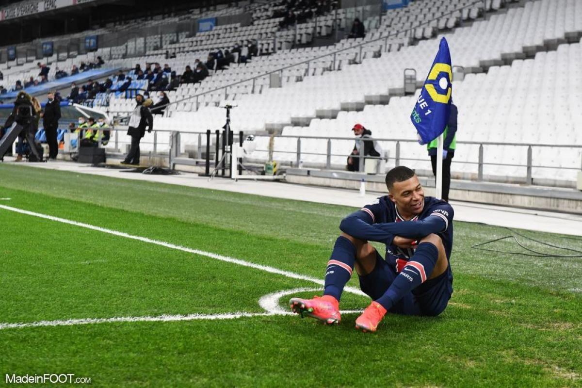 Kylian Mbappé avec le PSG