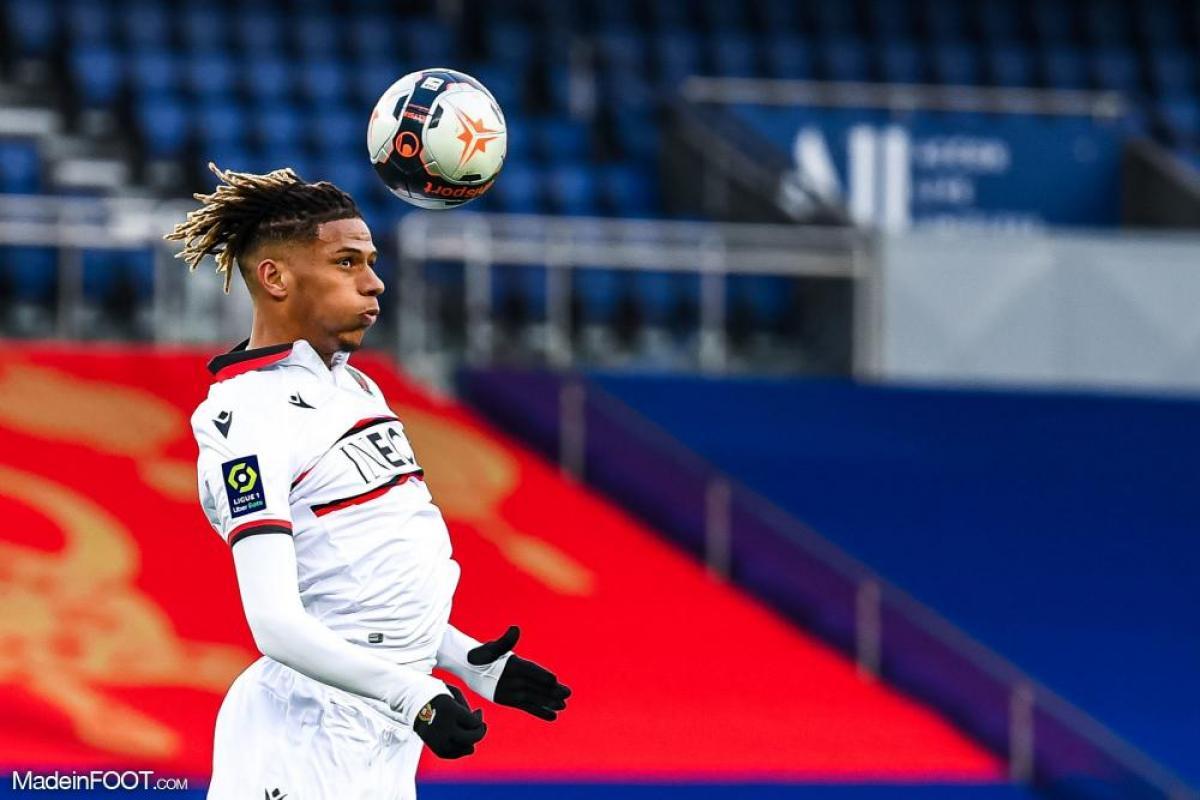 Jean-Clair Todibo, le défenseur central de l'OGC Nice.