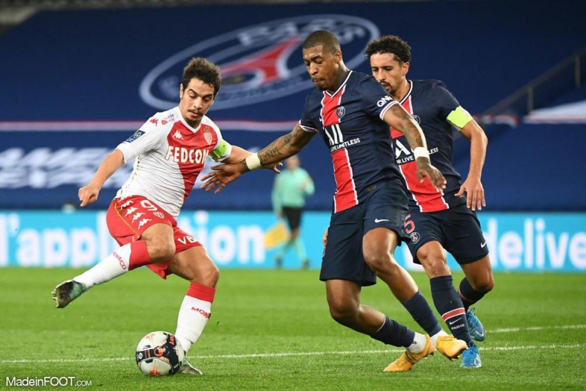 Les Parisiens s'inclinent contre Monaco