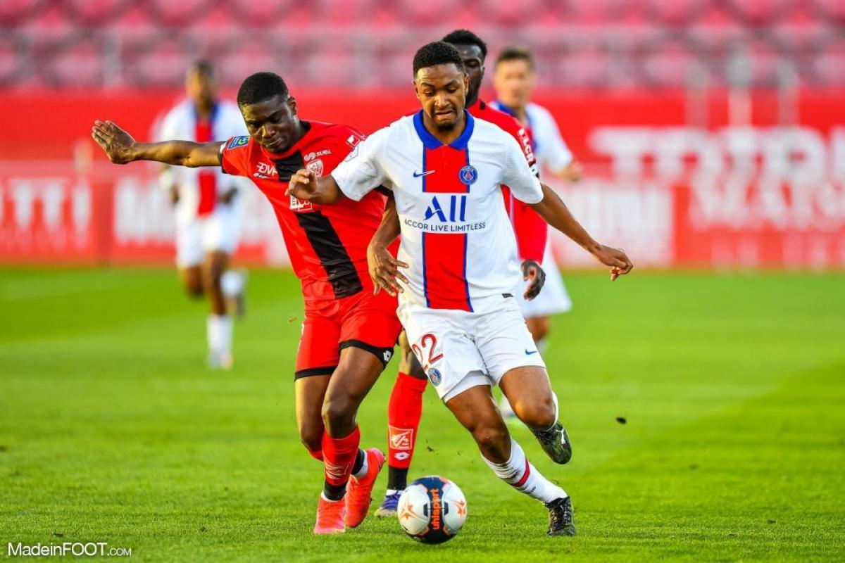 Abdou Diallo avec le PSG
