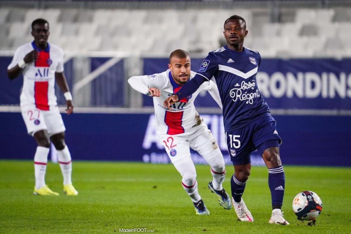 L'album photo du match entre les Girondins de Bordeaux et le Paris Saint-Germain.