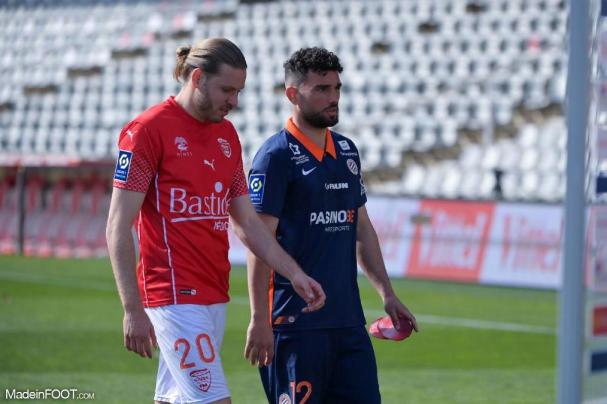 Renaud Ripart avec Nîmes
