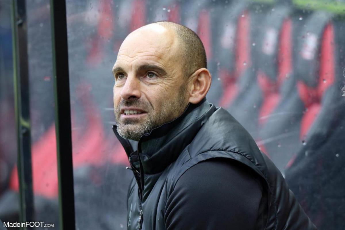 Gérald Baticle, le coach du SCO Angers