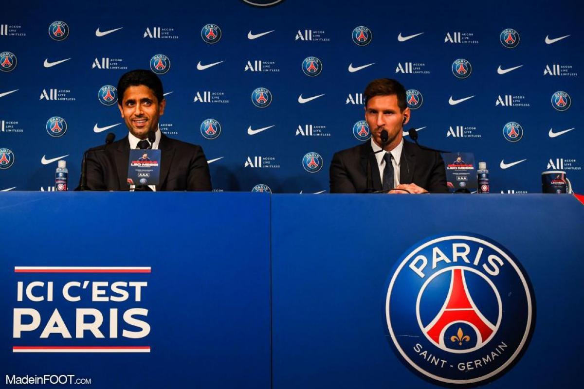 Nasser aux côtés de Messi