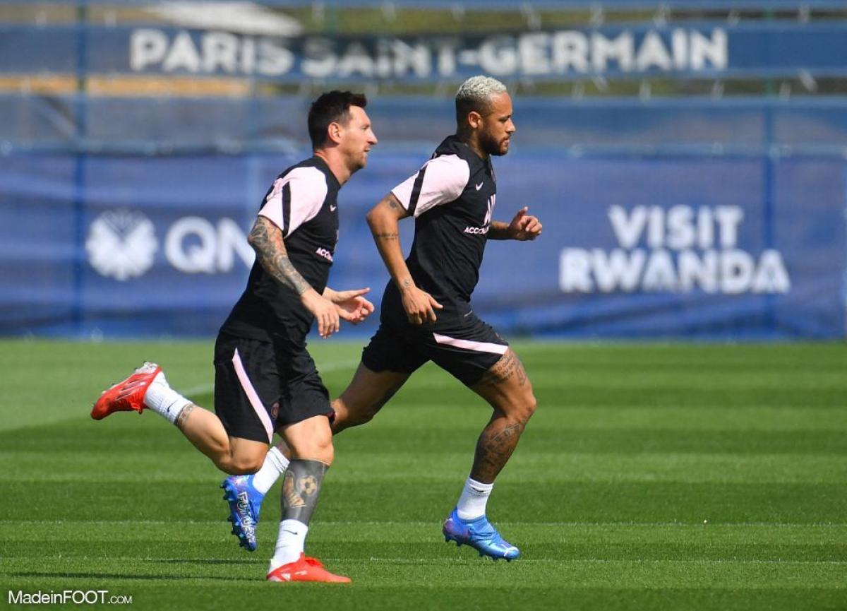 Messi et Neymar seront dans le groupe face à Bruges, mercredi