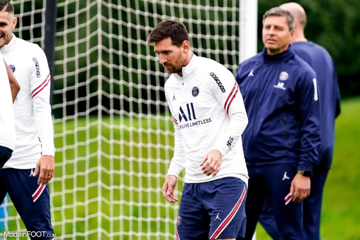 Messi avec le PSG