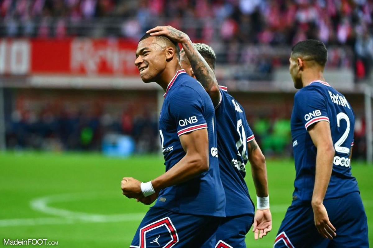 Kylian Mbappé joueur du mois d'août en Ligue 1