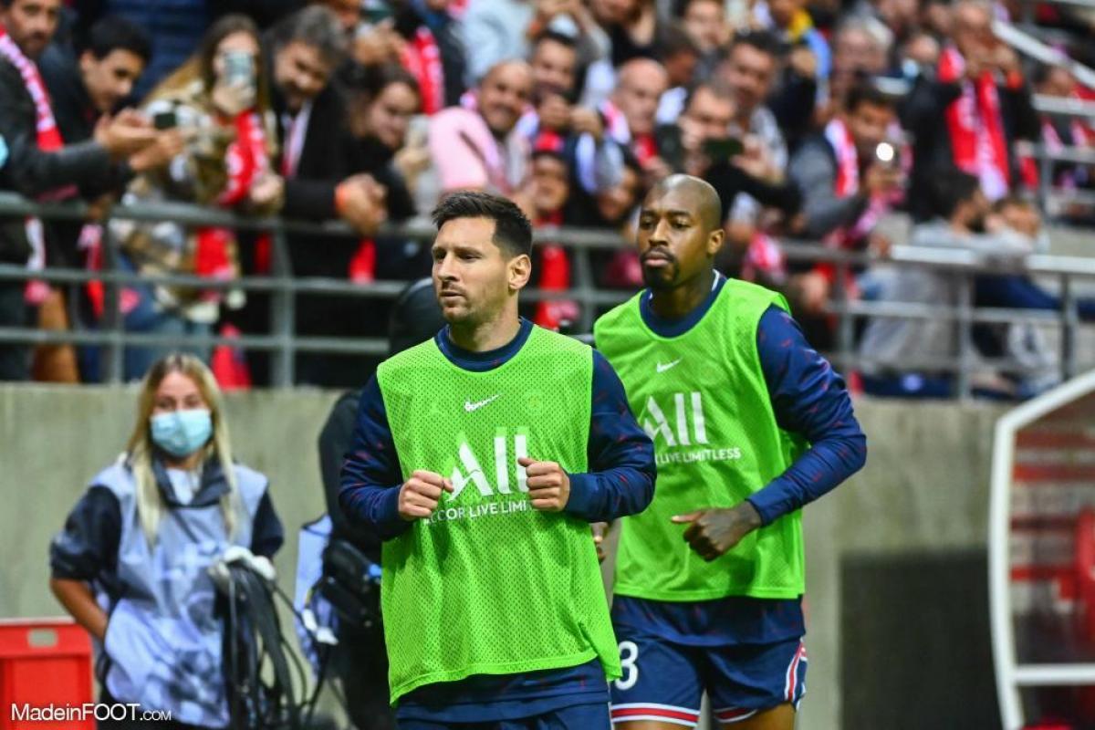 Lionel Messi avec le PSG