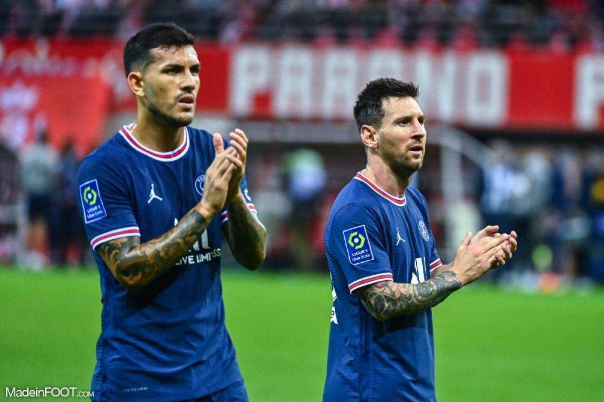 Lionel Messi sous les couleurs du PSG