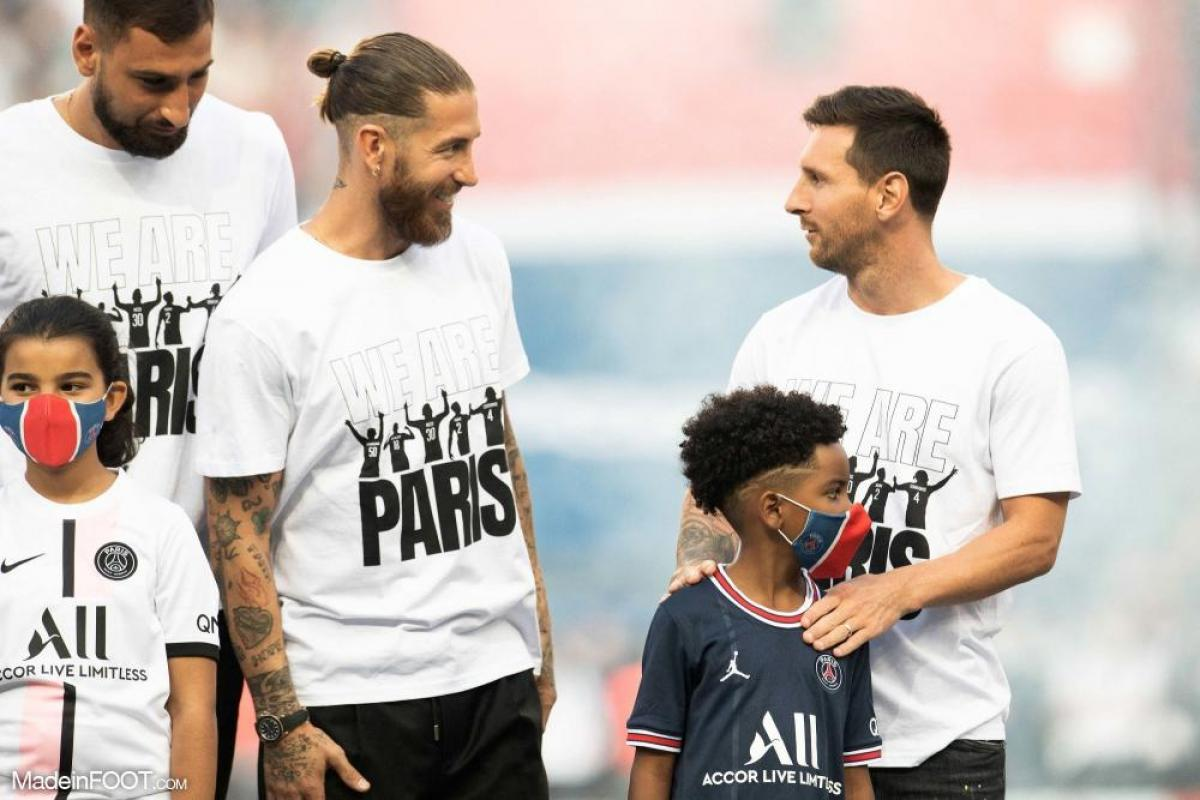 Ramos avec Messi