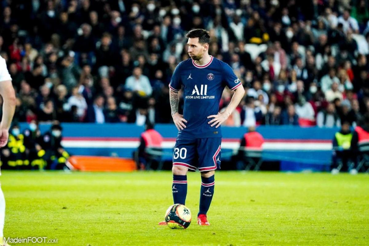 Messi n'a montré aucune réaction
