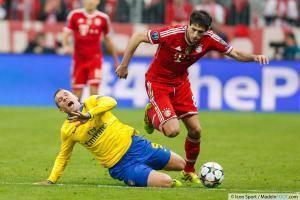Javi Martinez, milieu de terrain du Bayern Munich