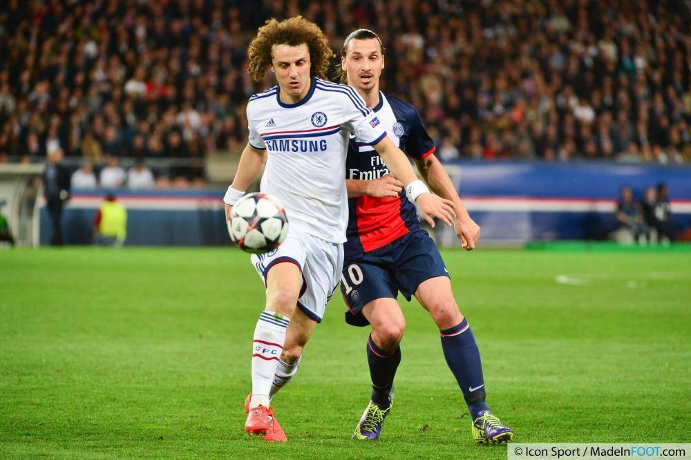 David Luiz avait rencontré le PSG sous les couleurs de Chelsea, la saison passée.