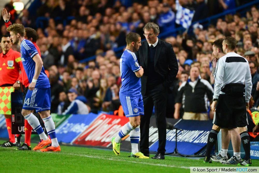 Hazard a exclu l'éventualité d'un départ au PSG