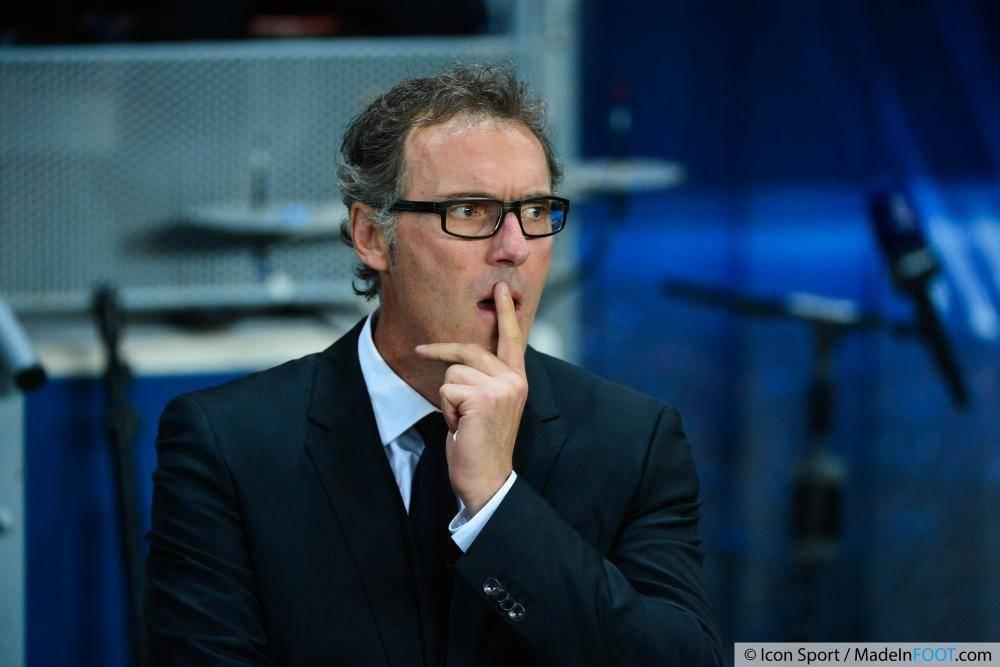Laurent Blanc n'a pas aimé la prestation de ses hommes en Bretagne