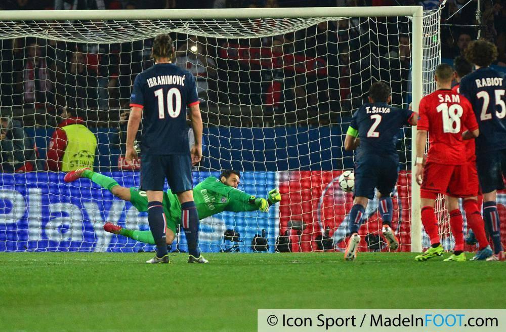 Sirigu avait stoppé un penalty face au Bayer Leverkusen