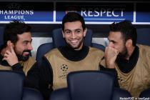 Salvatore SIRIGU / Javier PASTORE / Ezequiel LAVEZZI  - 15.09.2015 - PSG / Malmo - 1ere journee Champions League