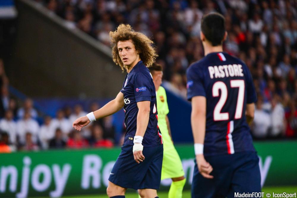 Le PSG n'a pas communiqué sur les absences de David Luiz et Bahebeck.
