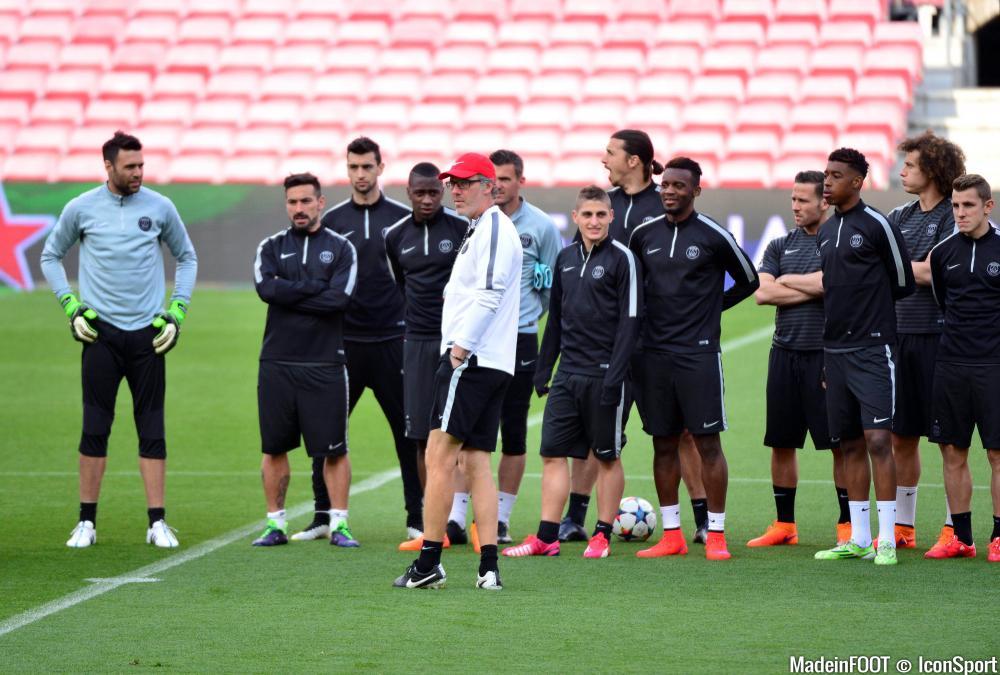 Laurent Blanc (PSG) salue les progrès réalisés par son jeune joueur.