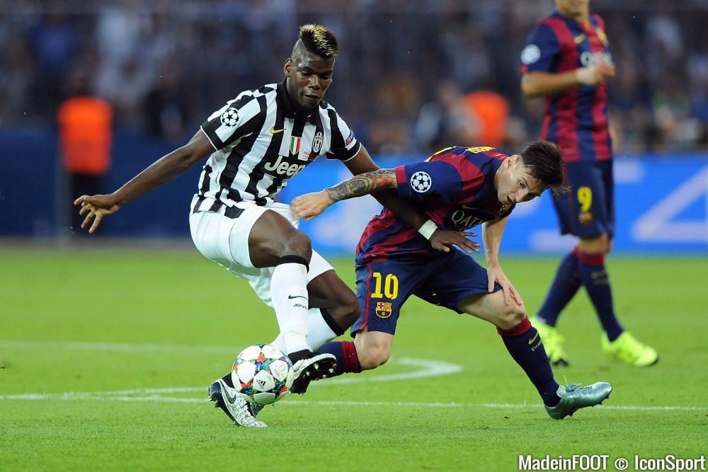 Paul Pogba (Juventus de Turin) se rapproche du FC Barcelone.