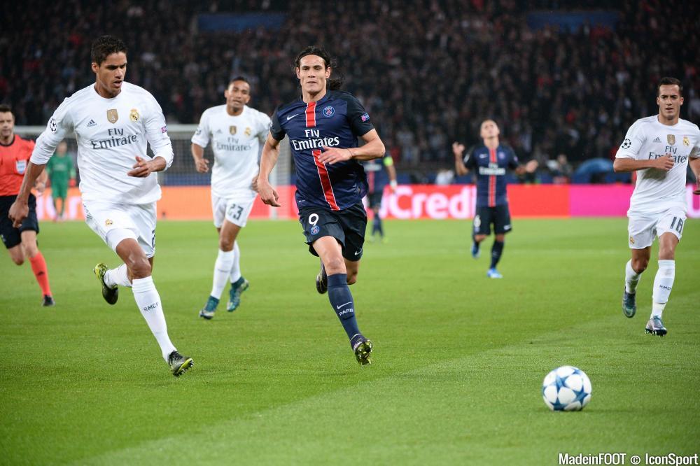 Edinson Cavani (PSG) est passé au travers face au Real Madrid (1-0), mardi soir.