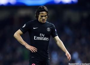 Edinson Cavani est sous contrat avec le PSG jusqu'en juin 2018