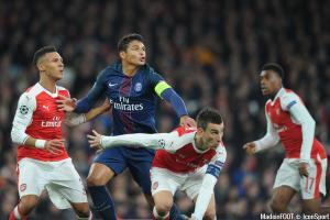Thiago Silva (PSG) s'est offert le ballon du match face à Chelsea.