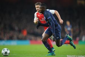 Matuidi (PSG) et Mustafi (Arsenal)