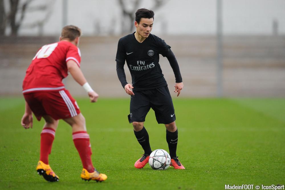 Alec Georgen (PSG) pourrait faire l'objet d'un prêt au Havre (Ligue 2).