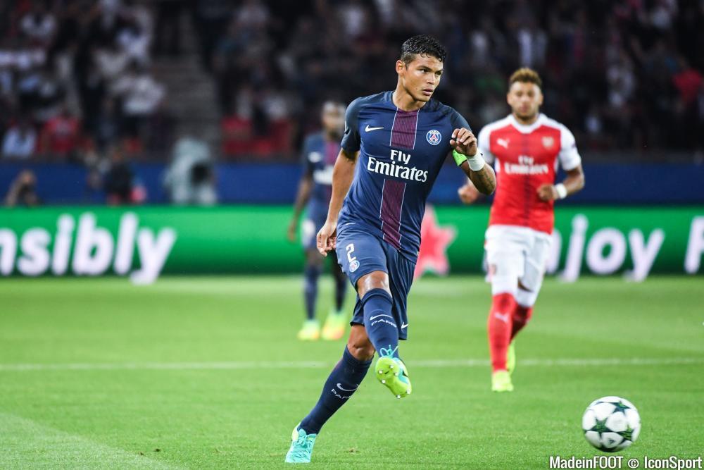 Thiago Silva (PSG) n'est pas sûr de poursuivre l'aventure dans la Capitale.