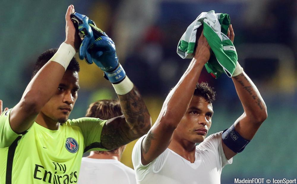 Areola et Thiago Silva se sont confiés sur l'ambiance retrouvée du Parc des Princes...