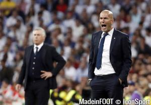 Zidane n'est pas satisfait