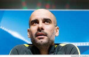 Pep Guardiola, entraineur de Manchester City