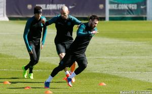 Messi, Neymar, Mascherano (FCB)