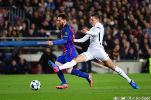 Messi (FCB) et Draxler (PSG)