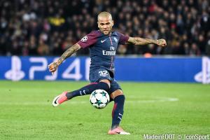 Daniel Alves, arrivé cet été au Paris Saint-Germain