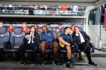 Unai Emery, Maxwell, Camara, Carcedo (PSG)