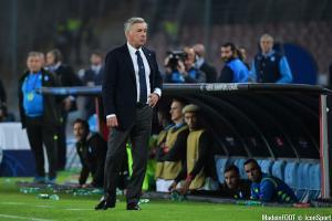 Carlo Ancelotti, l'entraîneur de Naples.