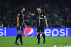 Thiago Silva (PSG) sera là face à Pontivy, pas Marquinhos.