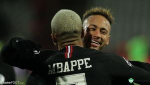 Mbappé a félicité Neymar.