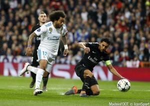 Marcelo (Real Madrid) a repris l'entraînement, ce jeudi.