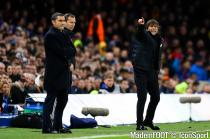 Conte (Chelsea) et Valverde (Barcelone)